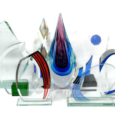 Kristall- ja klaasauhinnad, klaaskarikad